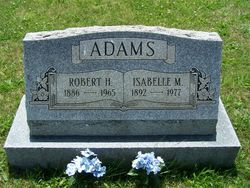 Isabelle May <I>Curtis</I> Adams