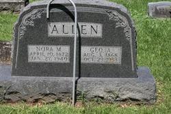 Nora M. <I>Montgomery</I> Allen
