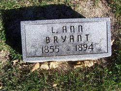 """Louisa Ann """"Annie"""" <I>Wilson</I> Bryant"""