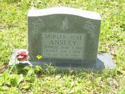 Shirley June Ansley