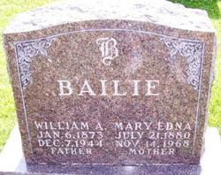 Mary Edna <I>Canfield</I> Bailie