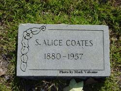 Sarah Alice <I>Weeks</I> Coates