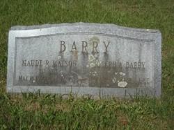 Maude R. <I>Matson</I> Barry
