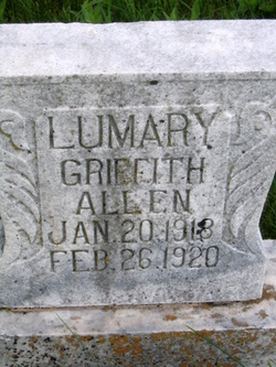Lumary Allen <I>Griffith</I> Allen