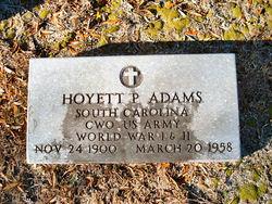 Hoyett P. Adams