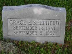 Grace Elizabeth <I>Wells</I> Shepherd