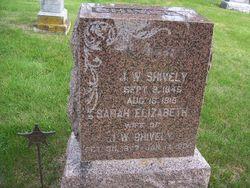 "Sarah Elizabeth ""Libbie"" <I>Adamson</I> Shively"