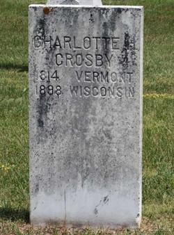 Charlotte <I>Heacox</I> Crosby