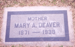Mary Agness <I>Bell</I> Deaver