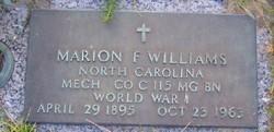 Marion F. Williams