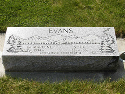 """Neal LaDare """"Stub"""" Evans"""