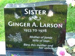 Ginger A <I>Burton</I> Larson