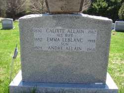Calixte Allain