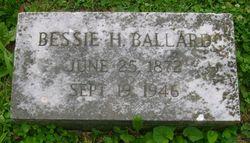 Bessie H. <I>Brady</I> Ballard
