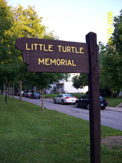 Chief Little Turtle Burial Site