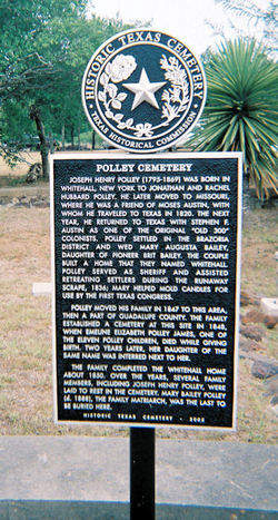 Polley Family Cemetery