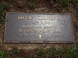 Capt Jacob Ambrose, Sr