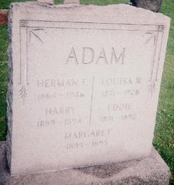 Louisa W. <I>Waldo</I> Adam