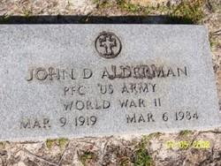 John Douglas Alderman