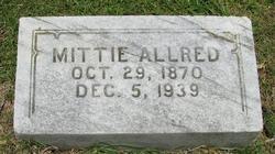 Mittie <I>Segrest</I> Allred