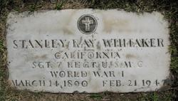 Stanley Ray Whitaker