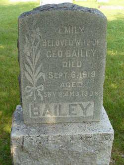Emily <I>Upstill</I> Bailey