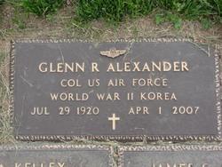 Col Glenn Ross Alexander