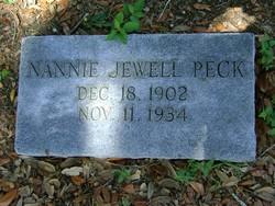 Nannie Jewell Peck