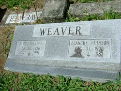 Hazel Blanche <I>Johnson</I> Weaver