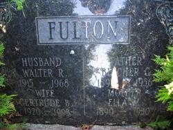 Gertrude B. <I>Rideout</I> Fulton Guiggey