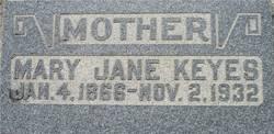 Mary Jane <I>Farrow</I> Keyes