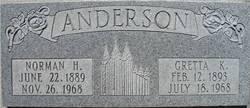 Gretta Izora <I>Kendell</I> Anderson