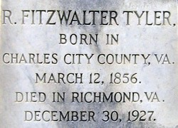 Robert Fitzwalter Tyler