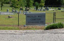 Presley Watts Cemetery