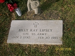 Billy Ray Lipsey