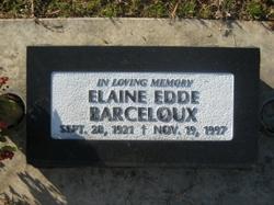 Elaine <I>Edde</I> Barceloux