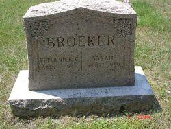 Sarah <I>Brandmeyer</I> Broeker