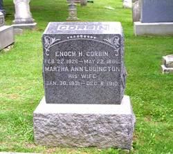 Martha Ann <I>Ludington</I> Corbin