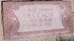 Elsie Edna <I>Erkkila</I> Ruesch