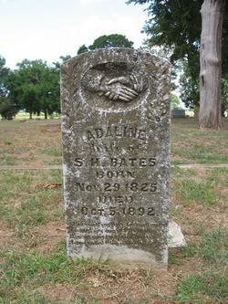 Eleanor Adeline <I>Faulkenberry</I> Bates