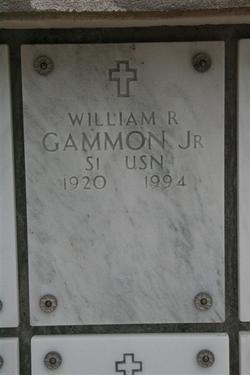 William R Gammon, Jr