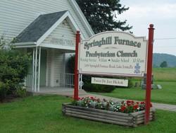 Springhill Furnace Presbyterian Church Cemetery