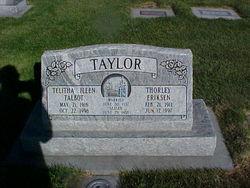 """Thorley Eriksen """"Chuck"""" Taylor"""