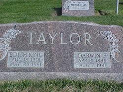 Edith May <I>King</I> Taylor