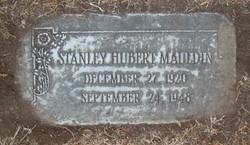 "Stanley Hubert ""Stan"" Mauldin"