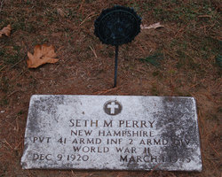 Pvt Seth Meacham Perry