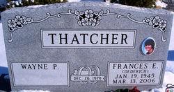 "Frances Eileen ""Fran"" <I>Dederich</I> Thatcher"