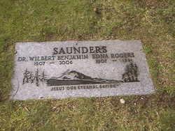 Edna Fay <I>Rogers</I> Saunders