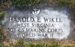 "Harold Edgar ""Cricket"" Wikel"