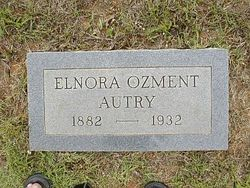 Elnora <I>Ozment</I> Autry